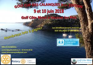 GOLF CUP DES CALANQUES - 3ème édition