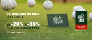 Nouveau partenariat : LeClub Golf